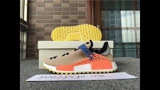 "69acb580bed48 PHARRELL × ADIDAS NMD HUMAN RACE ""SHOCK PINK"" BB0621 FROM YEEZYSGO ..."