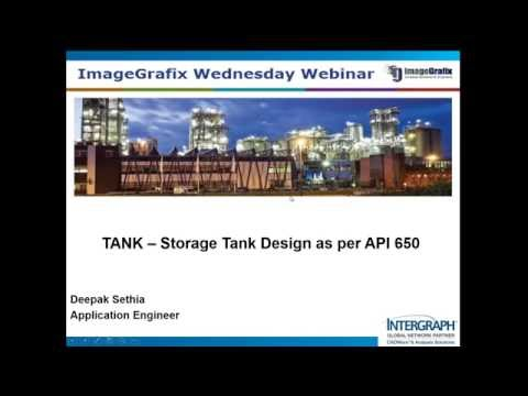 TANK – Storage Tank Design As Per API 650