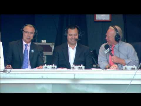 Dan Duquette joins broadcast during Game 162
