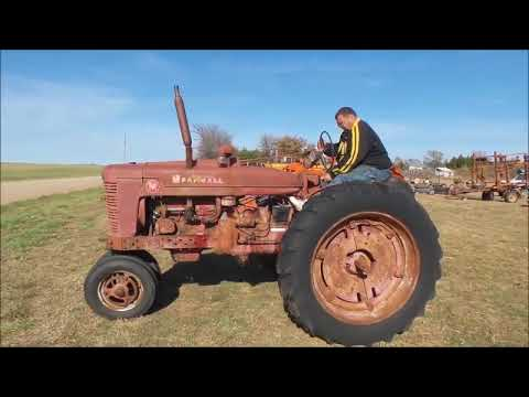 Farmall M tractor for sale   no-reserve Internet auction December 6, 2017