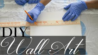 4 Custom Wall Art Pieces - Easy Wall Art DIY