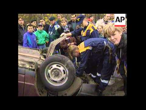 RUSSIA: MOSCOW: NEW SPECIALISED RESCUE TEAM INTRODUCED