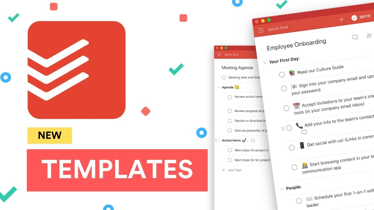 The new Todoist Templates: Explained ✅
