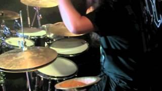 Lawrence Dinamarca - Drummer - Live Nightrage - Spiral