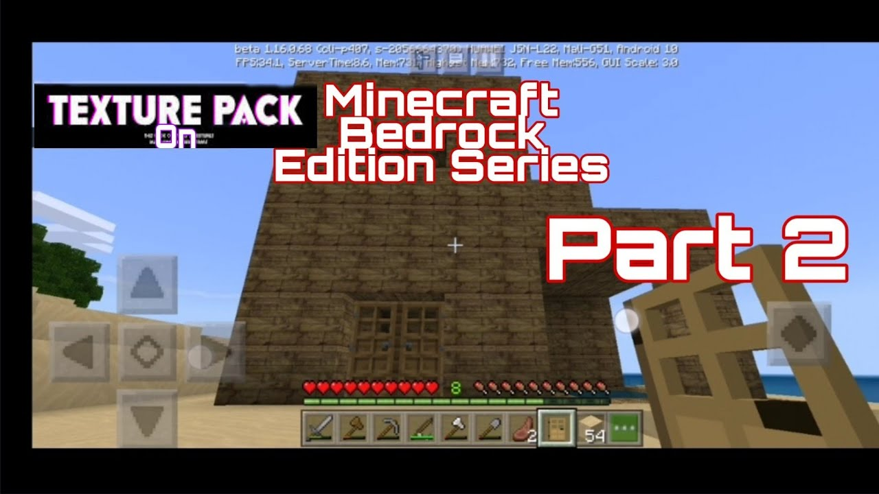 Minecraft Bedrock Edition 1.16 Beta Gameplay Series - YouTube