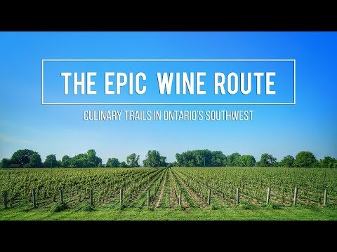WINERIES In ESSEX PELEE ISLAND | Culinary Trails In Ontario's Southwest