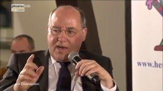 """""""Herausforderung Zukunft"""" - Die Diskussion vom 28.02.2016"""