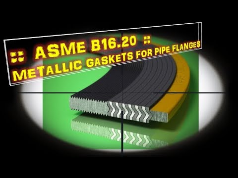 Metallic Gaskets For Pipe Flanges