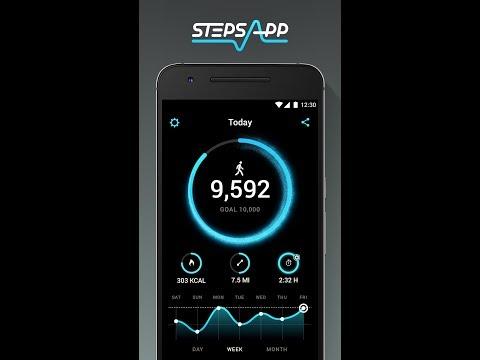 StepsApp Pedometer & Step Counter (Play Store)