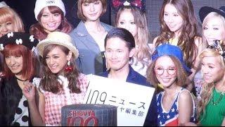 東京・渋谷のファッションビル『SHIBUYA 109』の35周年記念パーティーが28日、T2 SHIBUYAで開催され、歌手のMay.J、モデルの舟山久美子、テラスハウス出身で ...