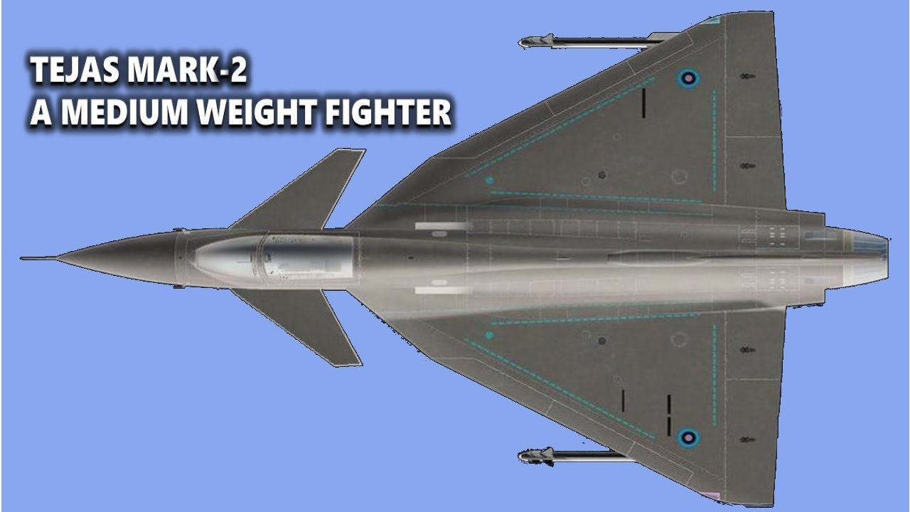 Post Upgradation Tejas' Mark 2 To Become a Medium Weight Fighter