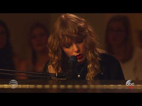 "Taylor Swift  ""New Year's Day"" Fan Performance"