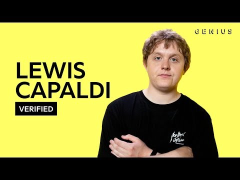 Lewis Capaldi Someone You Loved Official Lyrics & Meaning | Verified