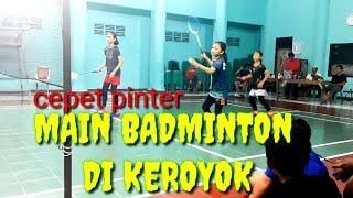 Latihan Badminton yg bikin pinter