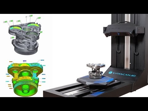 eviXmatic - Automatic Scanning and Measuring System