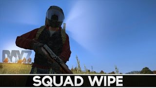 5 Man Squad Wipe! DayZ Standalone Gameplay