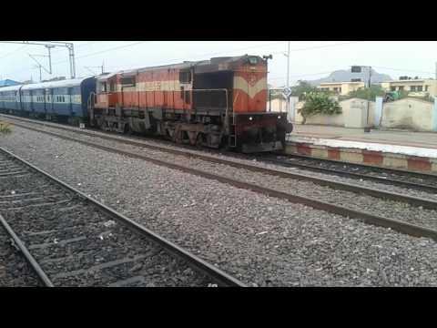Yadgir railway station train chennai express