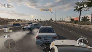 Forza Motorsport 7 Online - BMW M3 E92 at Dubai City Circuit (Spec League)