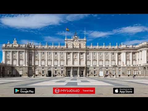 Palais Royal – Extérieur – Madrid – Audioguide – MyWoWo Travel App