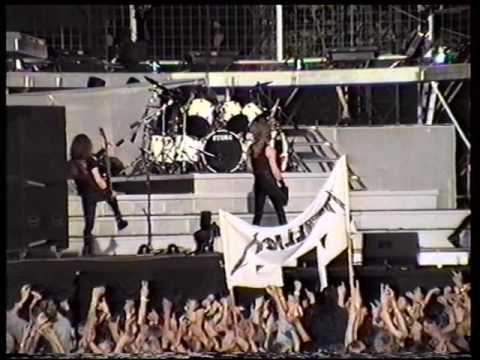 Metallica - Live in Copenhagen, Denmark (1991) [Full show]