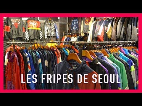 VLOG CORÉE : LES FRIPES DE SEOUL