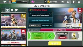 Rodeo boss 1* !!tekken mobile!! new 2018!!