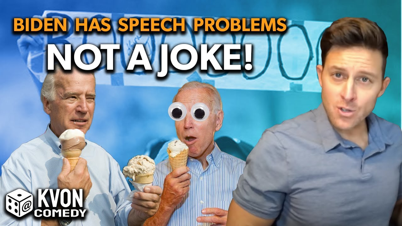 Joe Biden is GONE... (it'd be a shame if this goes viral)  Comedian K-von