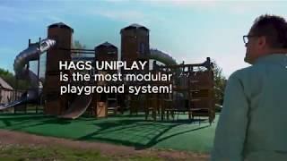 HAGS UniPlay - The Most Modular Playground System