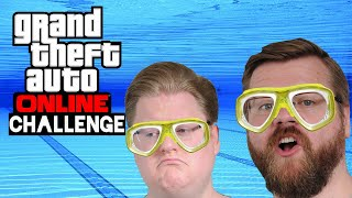 Challenge: Aus dem HELICOPTER in den Pool 🎮 Grand Theft Auto Online #185