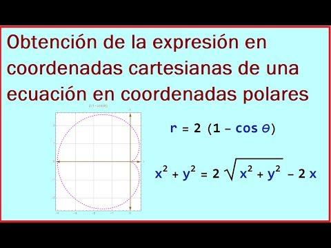 RELACION ENTRE LAS COORDENADAS POLARES Y COORDENADAS CARTESIANAS-DEMOSTRACION from YouTube · Duration:  7 minutes 48 seconds