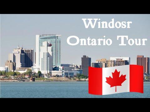 Windsor Ontario, Canada Tour!