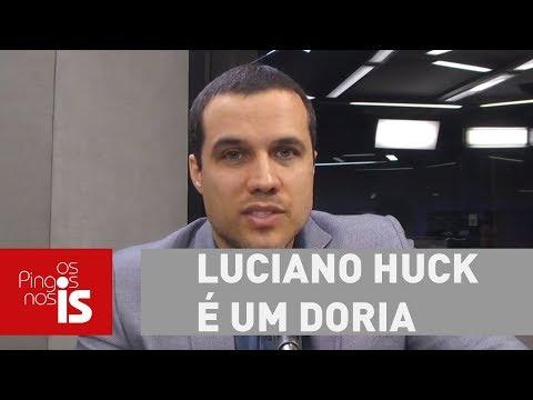 Felipe Moura Brasil: Luciano Huck é Um Doria Que Não Queimou A Largada