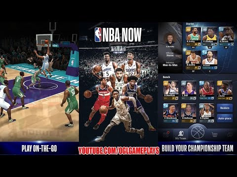 NBA NOW Mobile Basketball Game Android Gameplay