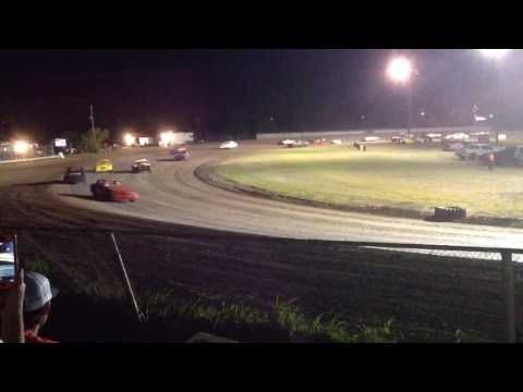 Factory Stock Feature part 2 Superbowl Speedway 4-8-17