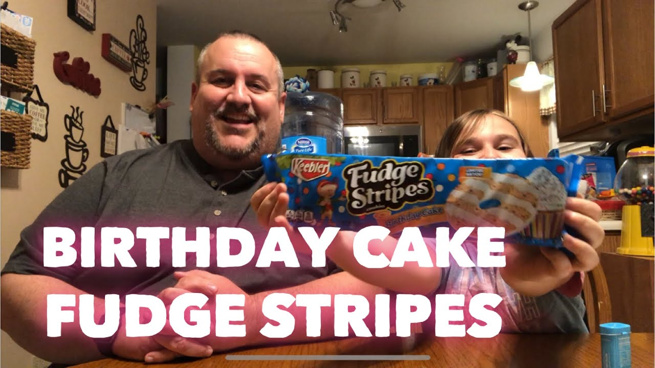 Keebler Birthday Cake Fudge Stripe Cookies 2018