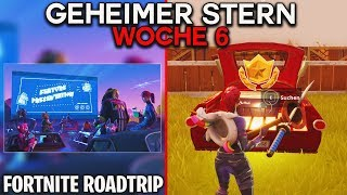 GEHEIMER BONUS STERN WEEK 6 ⭐ (Battle Pass Season 5) | Fortnite Roadtrip Charging Screen | Detu