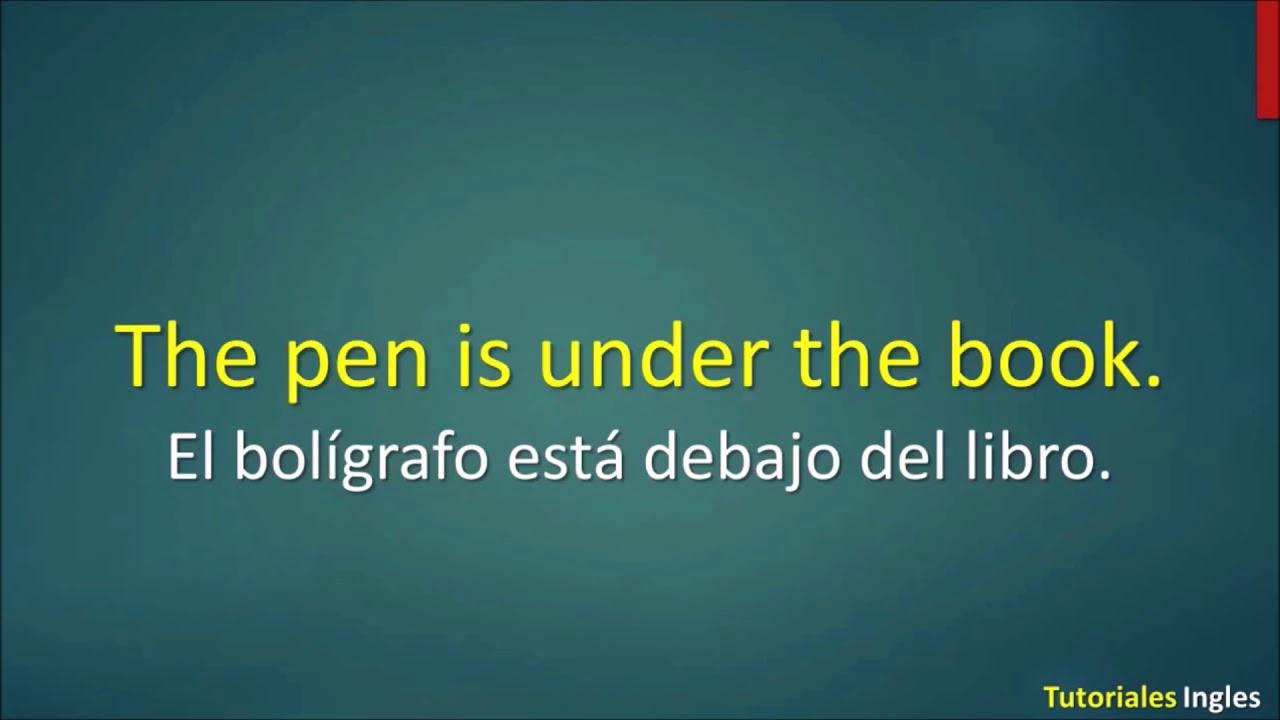 Lista De Frases Básicas En Inglés Para Principiantes Parte 1 De 3