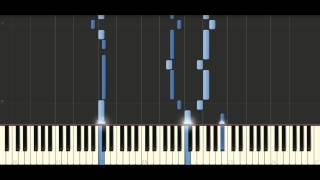 Bach - Sinfonia in E flat major, BWV 791 - Piano Tutorial Synthesia