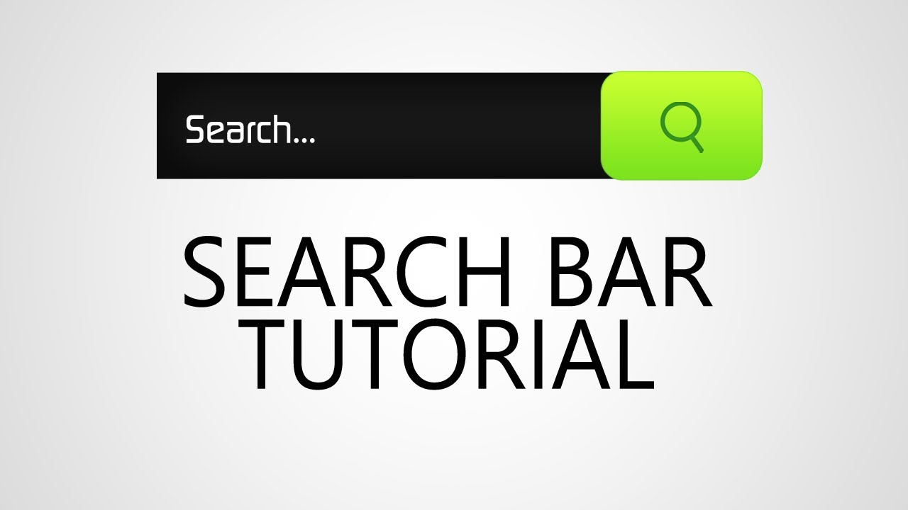 Search Bar - YouTube