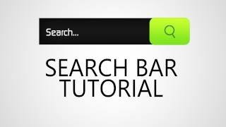 Web Design Tutorial | Search Bar