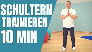 Schultern trainieren | 10 Minuten mit Mirko Lorenz #schulterntrainieren #schulterworkout