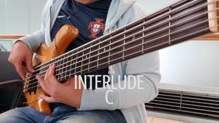 Ku di bri kuasa - Bass cover Yamaha TRB 6Pii (live from Changi Airport Singapore)