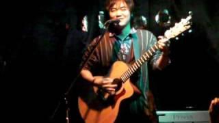 クリームパスタ 大野賢治(a.k.a歌続) ライブ at 2009/11/20 かつおの遊...
