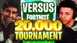 VIKKSTAR & TINNY vs TSM MYTH & TSM HAMLINZ in Fortnite $20,000 TOURNAMENT