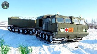10 Russian Vehicles For The Arctic Region