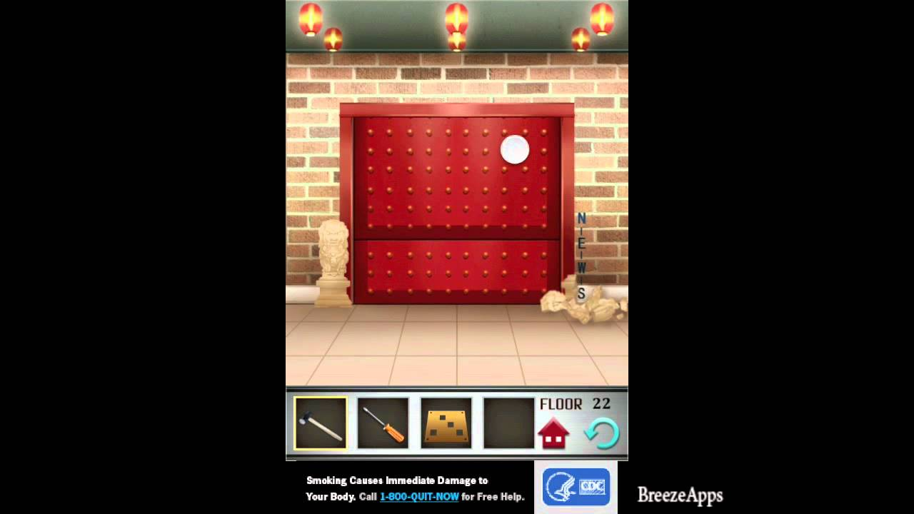 100 floors level 22 walkthrough 100 floors solution floor for 100 floors 17th floor answer