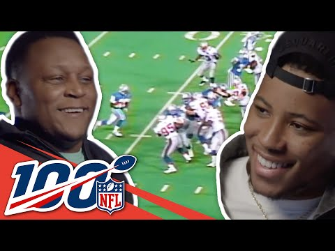 Barry Sanders and Saquon Barkley Share Some of Their Favorite Plays | NFL 100 Generations