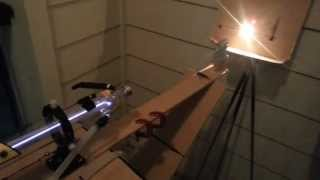 40W Carbon Dioxide Laser Test