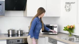 Mikrowelle, Grill und Heißluft ED8323.3S