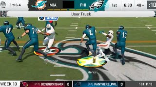 HEAVYWEIGHT BATTLE IN PHILLY! Madden 20 Online Franchise Gameplay
